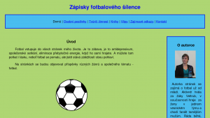 náhled webu fotbalovy-silenec.4fan.cz