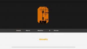 náhled webu g-aim.clanweb.eu