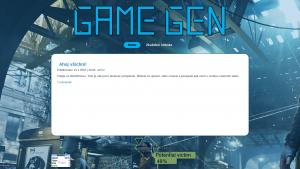 náhled webu game-gen.4fan.cz
