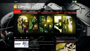 náhled webu gaming-zone.cz