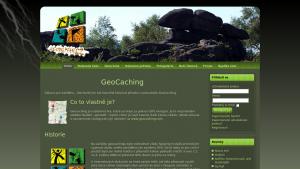 náhled webu geocaching.4fan.cz