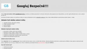 náhled webu googlujbezpecne.8u.cz