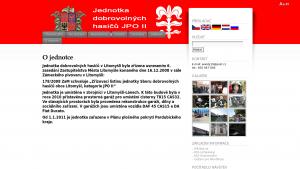náhled webu hasicilitomysl.hys.cz