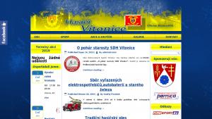 náhled webu hasicivitonice.eu