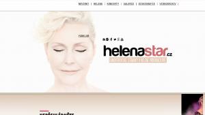 náhled webu helenastar.cz