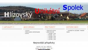 náhled webu hlizovskyspolek.cz