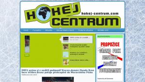 náhled webu hokej-centrum.com