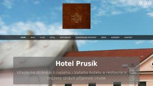 náhled webu hotel-prusik.cz