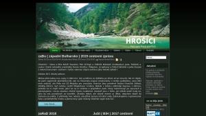 náhled webu hrosici.hys.cz
