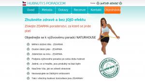 náhled webu hubnutisporadcem.cz