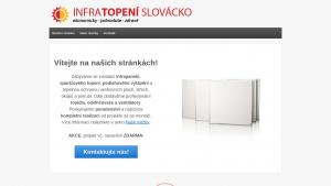 náhled webu infratopeni-slovacko.cz