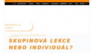 náhled webu inline-akademie.cz
