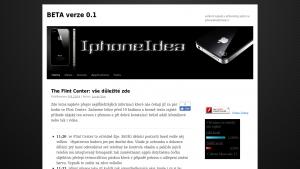 náhled webu iphoneidea.g6.cz