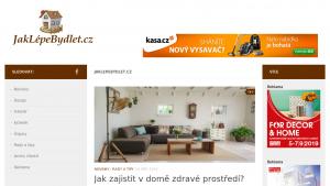 náhled webu jaklepebydlet.cz