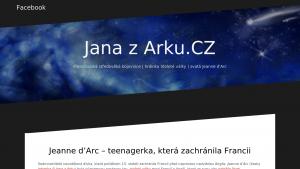 náhled webu janazarku.comehere.cz