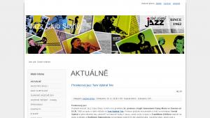 náhled webu jazzclubslany.cz