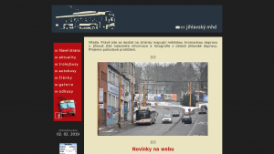 náhled webu jihlavskymhd.g6.cz