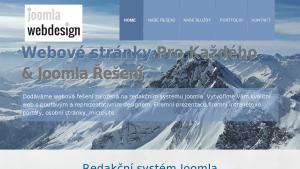 náhled webu joomla-webdesign.cz