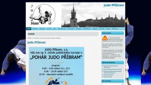 náhled webu judopribram.cz