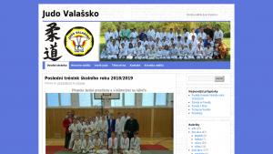 náhled webu judovalassko.maweb.eu