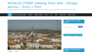 náhled webu katalogalfaomegaservisu.cz