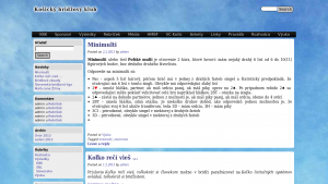náhled webu kbk.6f.sk