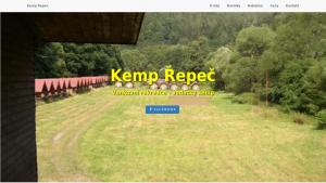 náhled webu kemp-repec.maweb.eu