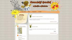 náhled webu keramika.g6.cz
