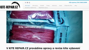 náhled webu kite-repair.cz