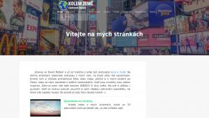 náhled webu kolemzeme.tode.cz
