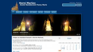 náhled webu kostel-marsov.maweb.eu