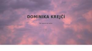 náhled webu krejdom.cz