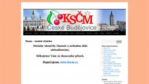 náhled webu kscm-cb.tode.cz