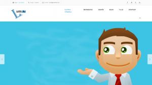 náhled webu l-web.eu