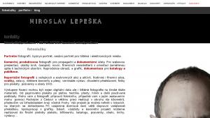 náhled webu lepeska.cz