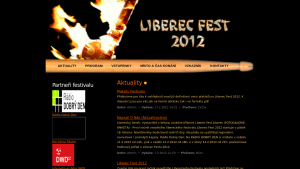 náhled webu liberecfest.g6.cz