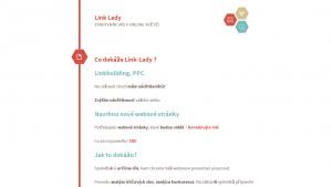 náhled webu link-lady.cz
