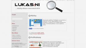 náhled webu lukasini.6f.sk