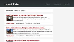 náhled webu lukaszafer.cz