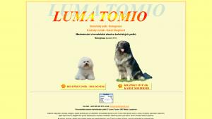 náhled webu lumatomio.cz