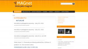 náhled webu magnet.tode.cz