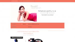 náhled webu makeup4u.4fan.cz