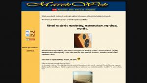 náhled webu marekweb.eu
