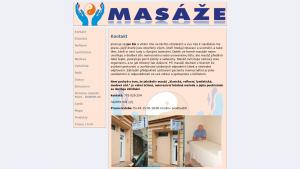 náhled webu masaze-jan.g6.cz