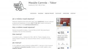 náhled webu masertabor.cz