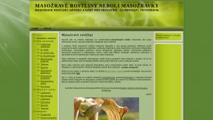 náhled webu masozravka.com