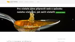 náhled webu medkorinek.cz