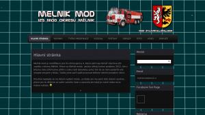 náhled webu melnikmod.4fan.cz