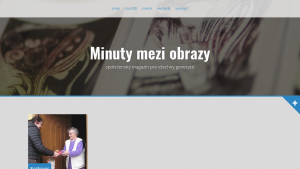 náhled webu minutymeziobrazy.cz