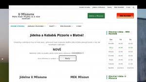 náhled webu mlsounblatna.cz